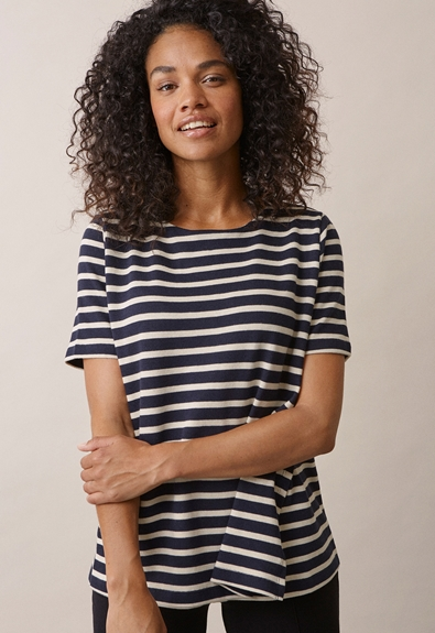 Breton short-sleeved top