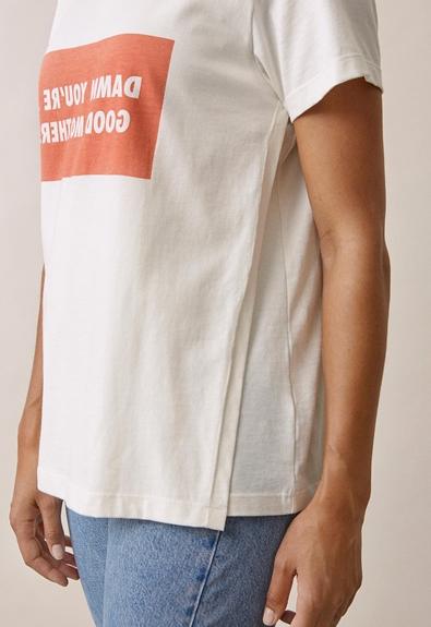 Chari-Tee - Tofu - XS (4) - Umstandsshirt / Stillshirt