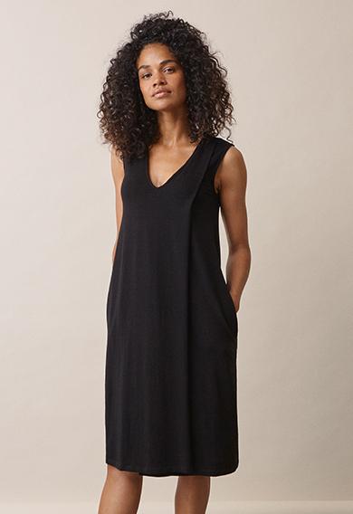 Lil dressblack (2) - Gravidklänning / Amningsklänning
