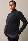 Sesame wool sweater - Almost black - L/XL - small (1)