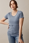 Classic short-sleeved top - Blue ash - XXL - small (1)