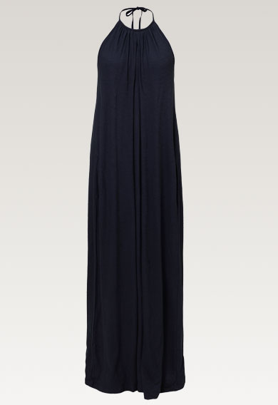 Air halterneck dressmidnight blue (6) - Umstandskleid / Stillkleid