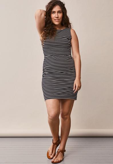 Simone ärmelloses Kleid - Black/Tofu - S (2) - Umstandskleid / Stillkleid