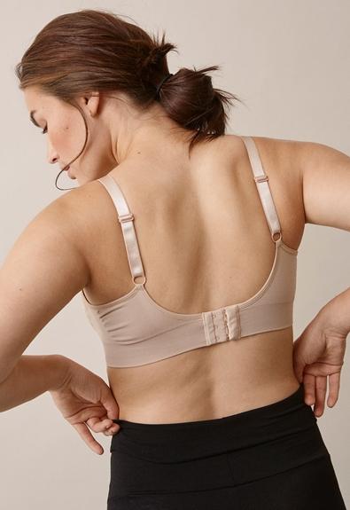 Fast Food T-shirt bra , Beige S (2) - Maternity underwear / Nursing underwear