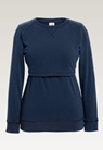 B Warmer sweatshirtthunder blue - small (4)