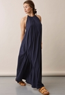 Air halterneck Kleid - Midnight blue - S - small (1)
