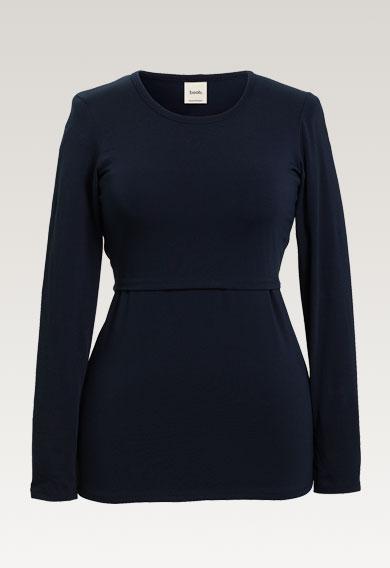 Classic l/s topmidnight blue (7) - Umstandsshirt / Stillshirt