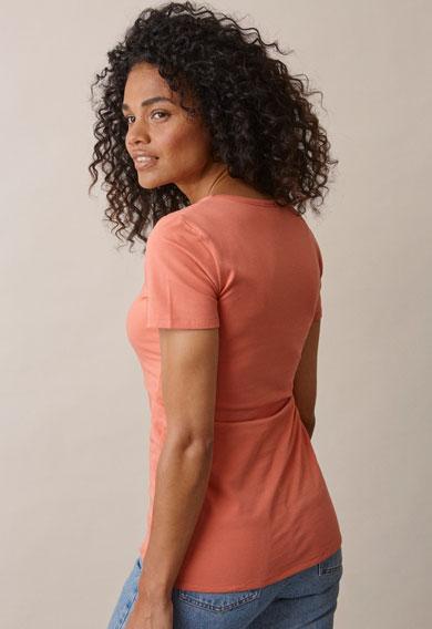 Classic s/s topcoral (2) - Umstandsshirt / Stillshirt