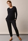 Signe long-sleeved top - Black - S - small (2)