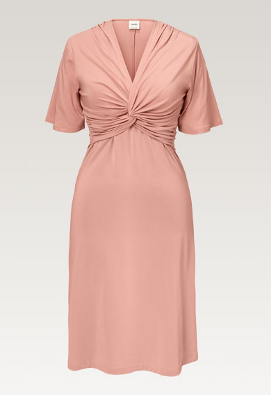 La La dressmisty rose (7) - Maternity dress / Nursing dress