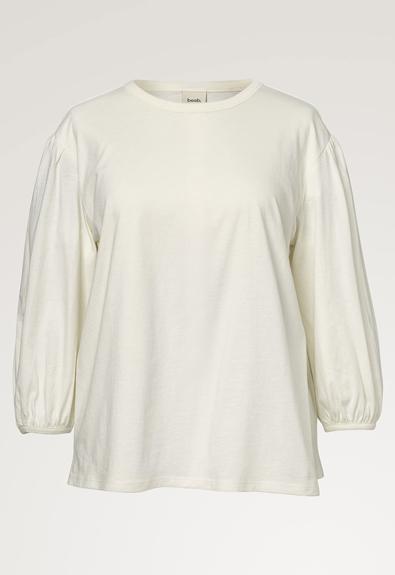 The-shirt blouse - Tofu - M (6) - Maternity top / Nursing top