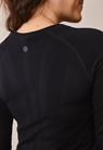 Long-sleeved sports top - Black - L/XL - small (5)