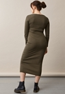 Signe Kleid - Pine green - S - small (3)