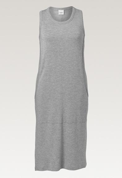 BFF-Kleid - Grey melange - S (6) - Umstandskleid / Stillkleid