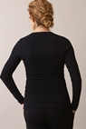 Signe long-sleeved top - Black - S - small (4)