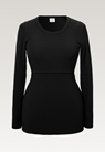Signe long-sleeved top - Black - S - small (7)