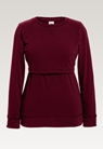 B Warmer sweatshirtburgundy - small (5)