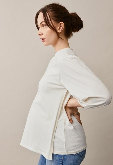 The-shirt blouse - Tofu - M (1) - Maternity top / Nursing top