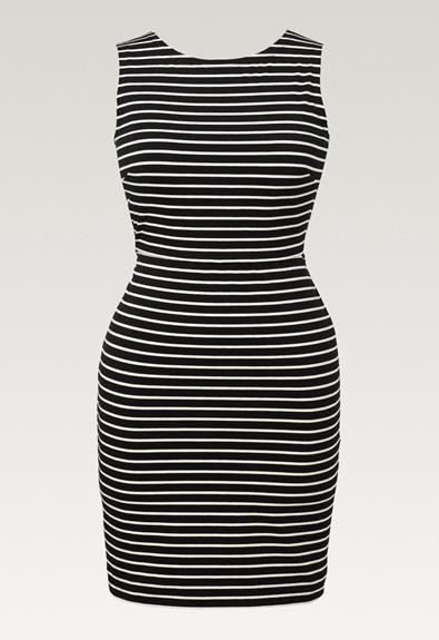Simone ärmelloses Kleid - Black/Tofu - S (5) - Umstandskleid / Stillkleid