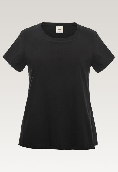 The-shirt, Black S (6) - Maternity top / Nursing top