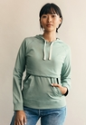 B Warmer hoodiegreen surf - small (1)