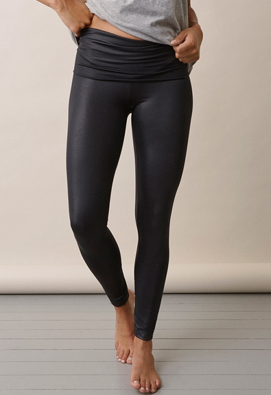 Once-on-never-off glam leggings - Black - L (3) - Maternity pants