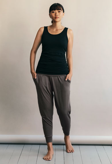 Once-on-never-off easy pants, magnet M (7) - Maternity clothes