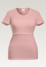 Classic short-sleeved top - Mauve - XS - small (5)