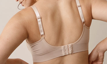 Fast Food T-shirt bra , Beige XL