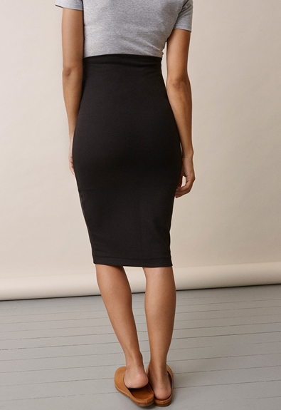 Once-on-never-off pencil skirt - Black - XL (4) - Maternity skirts