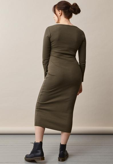 Signe Kleid - Pine green - S (3) - Umstandskleid / Stillkleid