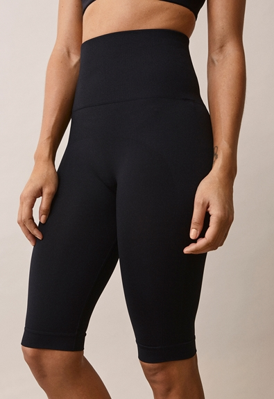 Soft support bicycle shorts - Black - L/XL (2) - Maternity pants