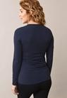 Classic Langarmshirt - Midnight blue - S - small (4)
