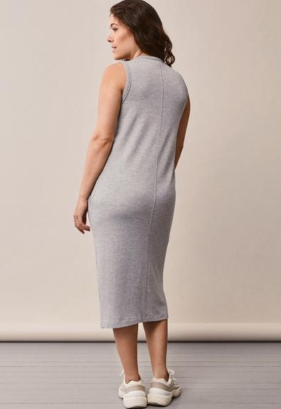BFF klänning - Grey melange - S (3) - Gravidklänning / Amningsklänning