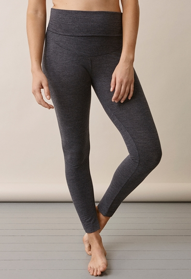 Once-on-never-off leggings i merinoull - L (3) - Gravidbyxor