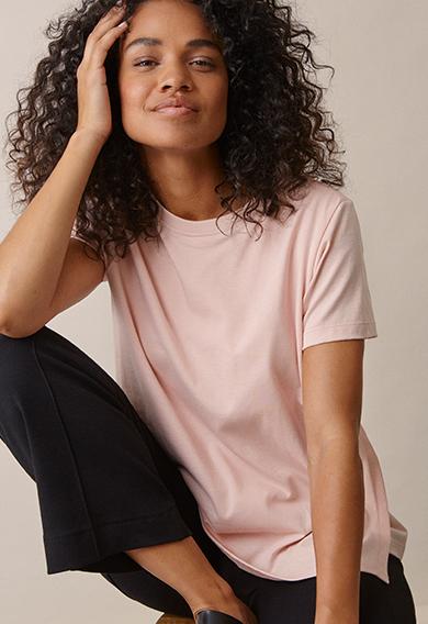 The-shirt - Light pink - XL (1) - Umstandsshirt / Stillshirt