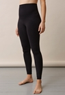 Soft support leggings - Black - S/M - small (1)
