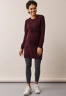 B.Warmer klänning - Eggplant - M - small (1)