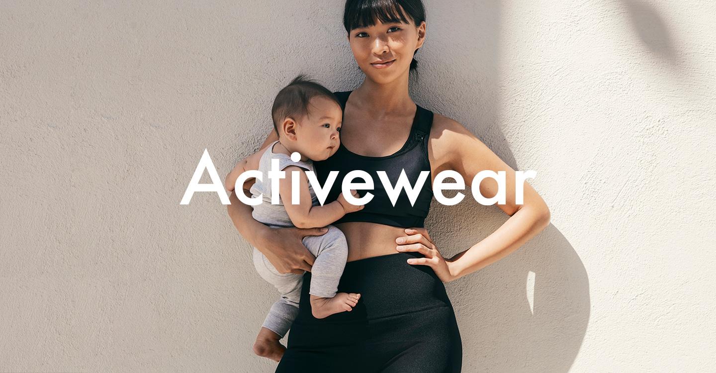 Träningskläder för den lätta gravidträningen eller mammaträningen