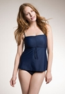 Fast Food tankini, ink blue XS - small (1)